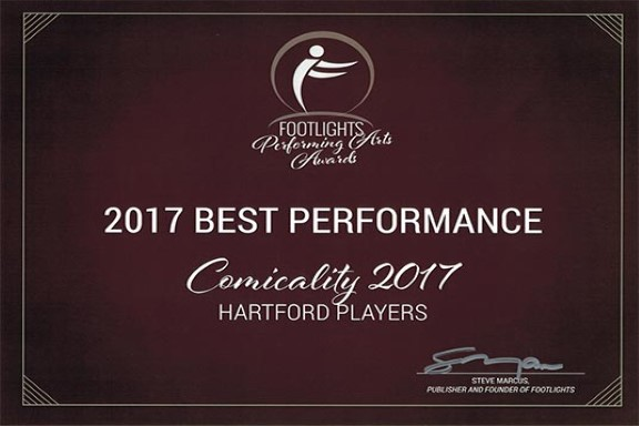 FOOTLIGHTS AWARD 2017 - COMICALITY